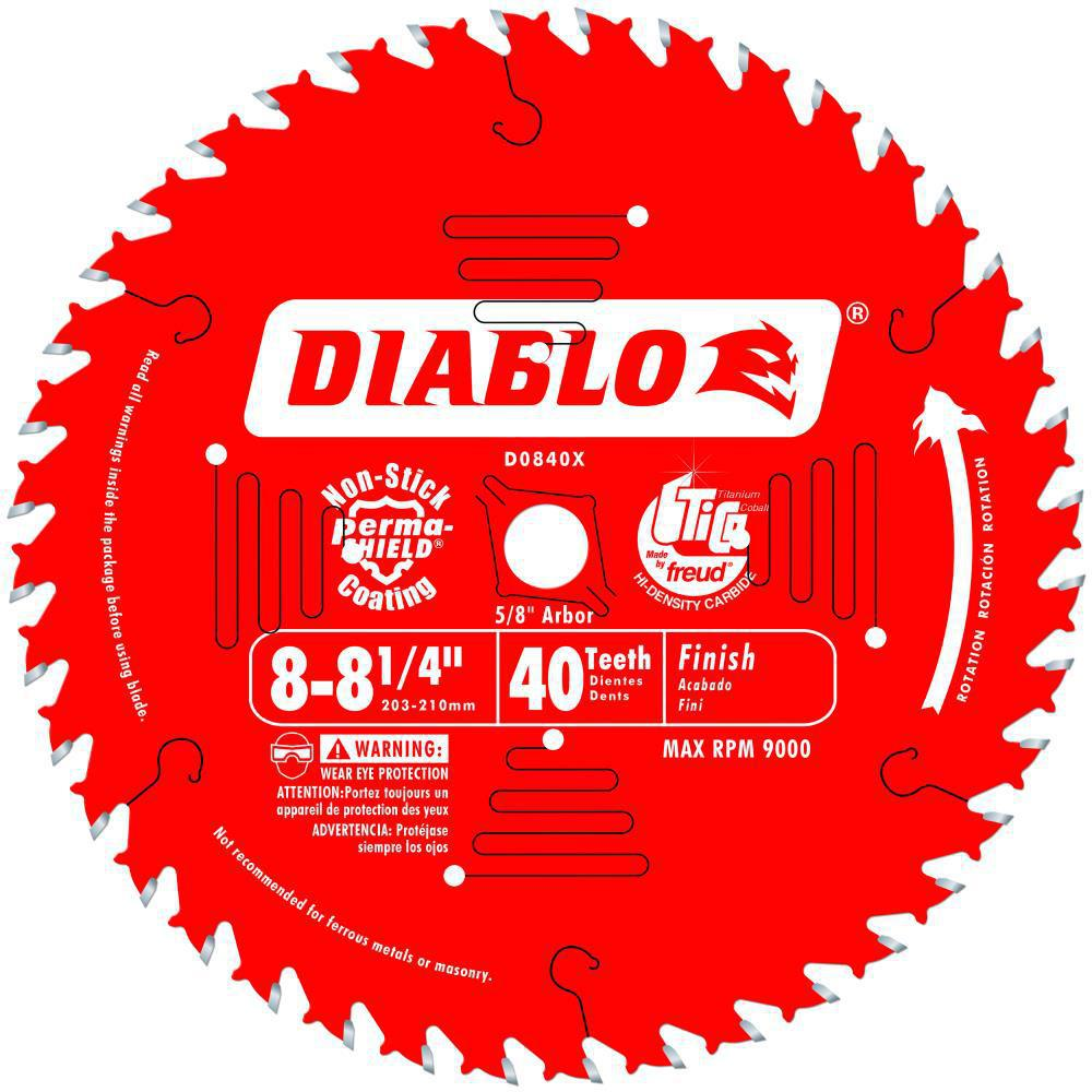 "FREUD 8 1/4"" x 40T (28-D0840X) Saw Blade"
