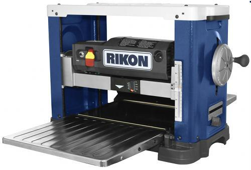 rikon 25-130H 13 inch benchtop planer with helical style cutter