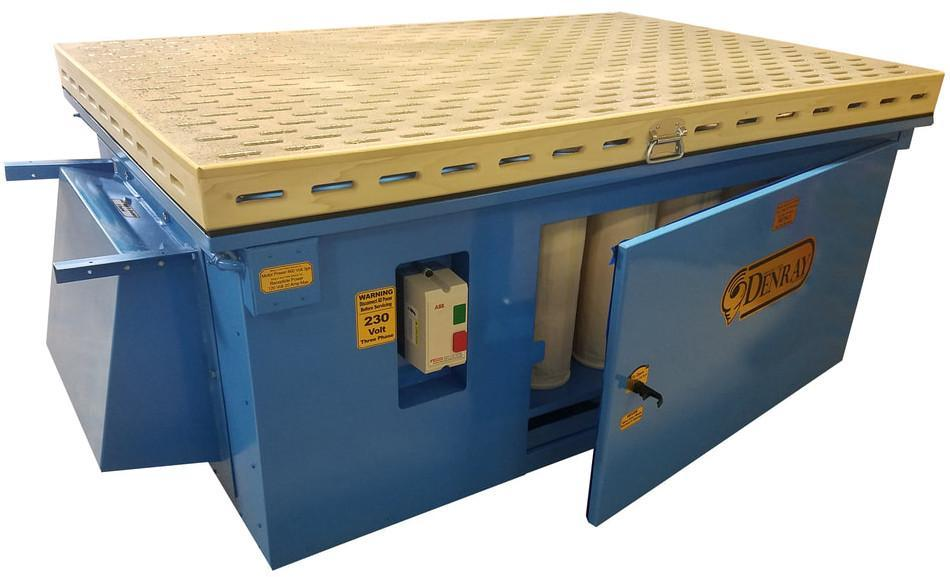 DOWNDRAFT TABLE - TUBE TYPE FILTRATION
