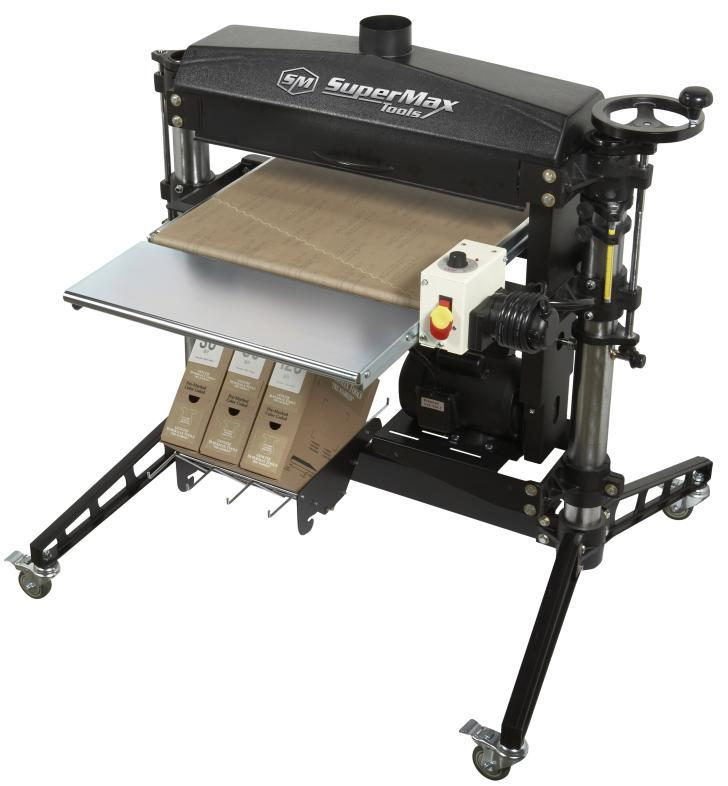 "SUPERMAX SHOP PRO 25 - 25"" SINGLE DRUM SANDER"