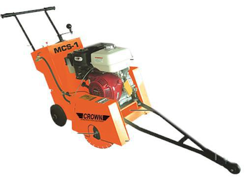 crown MCS-1 Walk Behind Concrete Saw