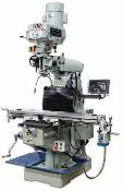 VM-949E-VS 9x49 inch, 220V, 1ph, 3hp Variable Speed Verticle Mill