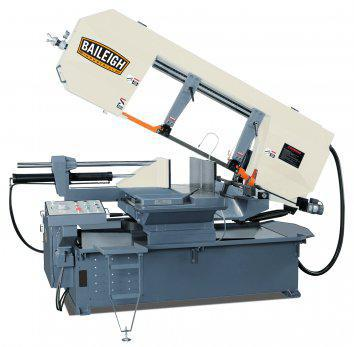Semi-Automatic Dual Mitering Horizontal Band Saw BS-24SA-DM