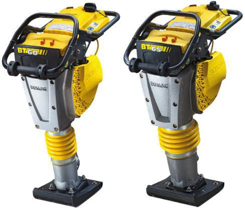 BT 60 and bt 65. BOMAG Tamper.