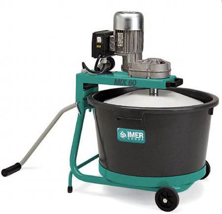 mini mix 60 portable vertical shaft mixer