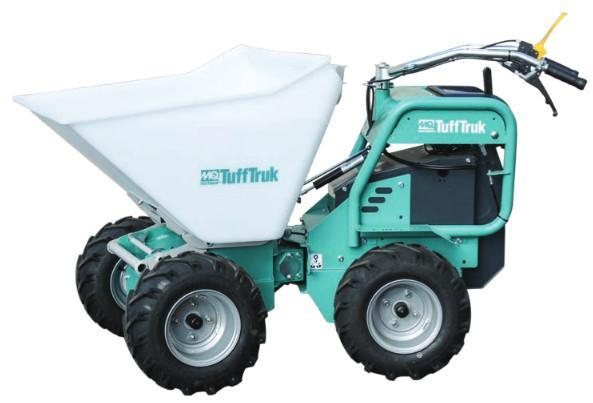 Multiquip TuffTruk Model TB11PE, TB11E Battery Powered Articulating Joing Power buggies