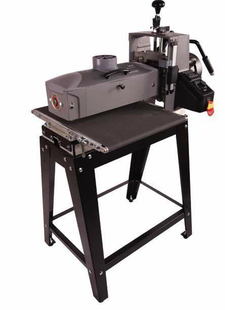 16-32 DRUM SANDER WITH OPEN STAND