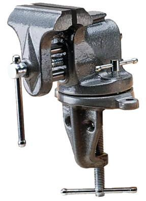 clamp on bench vise