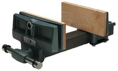 "78A, Pivot Jaw Woodworkers Vise - Rapid Acting, 4"" x 7"" Jaw"