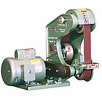"BURR KING 482 3 Wheel Belt Grinder - 2"" x 48"""