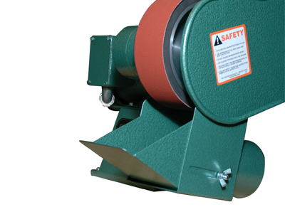Optional partial wrap Dust Scoop also available. Shown on Model 960-250.