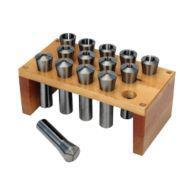 PREMIUM 14 PC R-8 COLLET SET 1/16 TP 7/8 BY 16THS WITH RACK