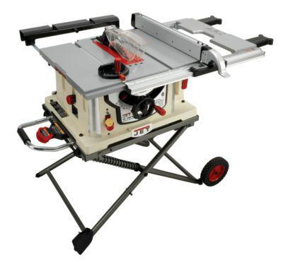 JET 707000 B3NCH, JBTS-10MJS, 10-in Jobsite Table Saw with Stand