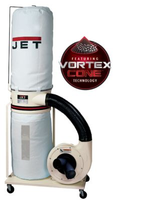 JET DC-1100 / 1100 CFM Bag & Canister FILTER DUCT COLLECTORS