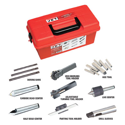 23-piece Turning Tool Kit for all ZX Series Lathes