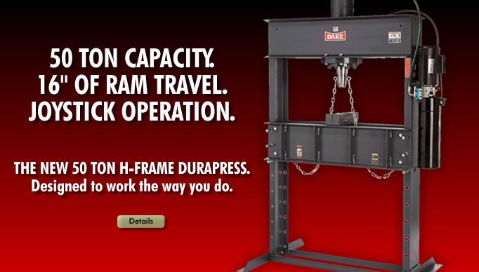 dake 10 ton bench press 2