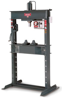 DAKE - Hydraulic (Double-Acting ram) Shop Press