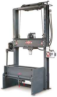 DAKE - MOVABLE TABLE HYDRAULIC SHOP PRESS