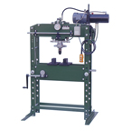 ZINKO - 35 TON AIR OPERATED H-FRAME SHOP PRESS