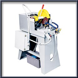 "Wet Cutting Saws:  10"" Wet Abrasive Cutoff Machines"