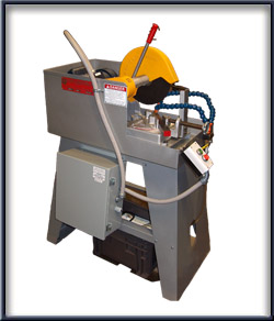 "Wet Cutting:  10"" Wet Abrasive Mitering Machines"