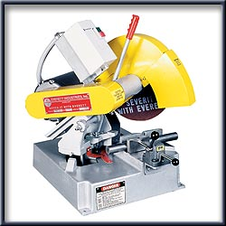 "Dry Cutting: 12"" Dry Abrasive Mitering Machines"