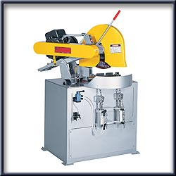 "Dry Cutting: 14""-16"" Dry Abrasive Double Mitering Machines"