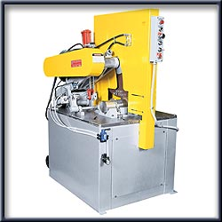 "30 HP / 26"" Dry Abrasive Oscillating Cutoff Machines"