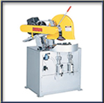 Dry Cutting Machines:  Double Mitering Cutoff Saw / 7.5, 10 & 20 HP Models