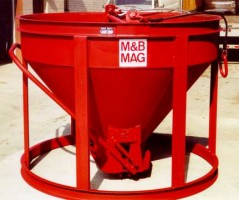 Standard Upright Steel Concrete Buckets