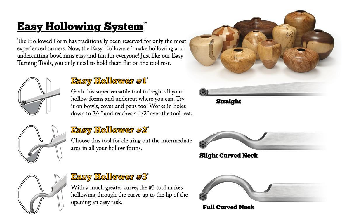 hollowing tools