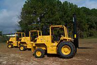 C series 5000 lbs rough terrain forklifts