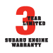 3 year engine warranty