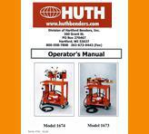 Huth Expander Models 1673/1674 Operations Manual