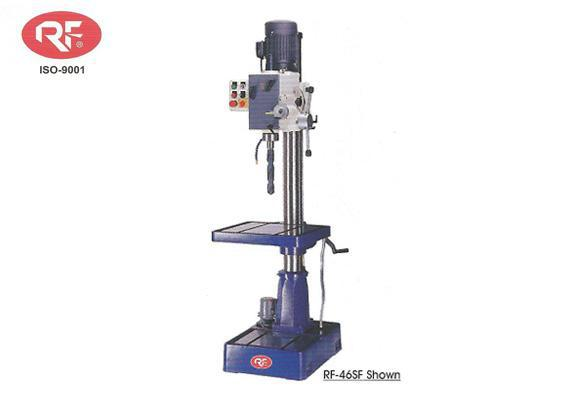 RF-46SF 20-1/2 6 speed geared head drill presses