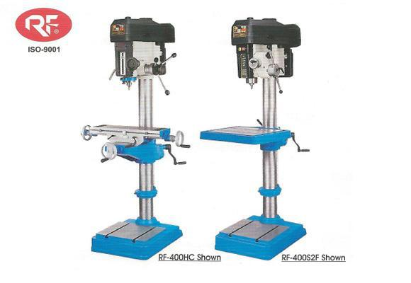 RF-400HC and RF-400S2F 16 inch 12 speed drill presses