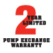 2 year pump warranty