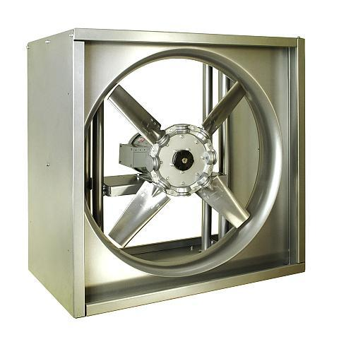 HEAVY DUTY FHI and FHIR SERIES True Reversible Fans
