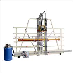 SAFETY SPEED CUT - MODEL SR5U  VERTICAL PANEL SAW & ROUTER