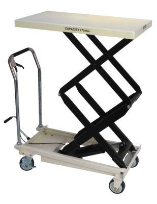 DSLT-770, DOUBLE SCISSOR LIFT TABLE, 770-LB. CAPACITY