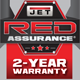 warranty logo 2 years