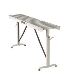 HRT-70 66-INCH ADJUSTABLE FOLDING CONVEYOR TABLE