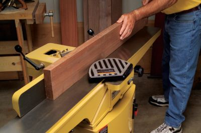 Powermatic 54A 6 inch Jointer with Quick-Set Knives