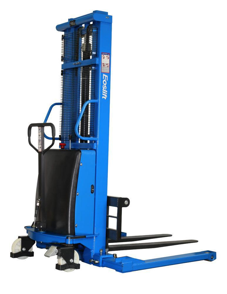 eoslift Semi Electric Stacker with adjustable leg
