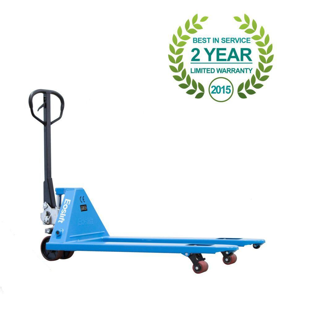 eoslift m series pallet trucks 4400 - 6600 lbs