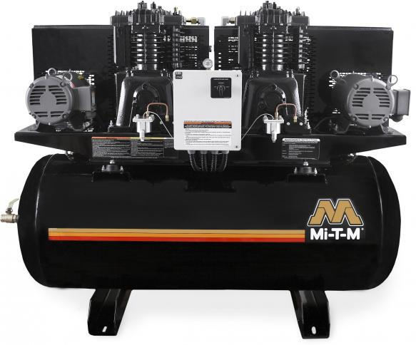 Mi-T-M Stationary Electric Air Compressors