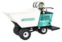 multiquip WBH-21EFP, 21 Cu. Ft., 18HP Vanguard Propane engine, with foam-filled tires