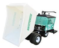 multiquip WBH-21EF, 21 Cu. Ft., 18HP Vanguard engine, with foam-filled tires