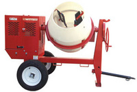 Whiteman mc94p - 9 cu ft - Poly drum concrete/cement mixers