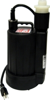 YELLSUB 1.25 Inch Discharge, .25 HP, 115V, 1320 GPH, 15 ft. Total Head